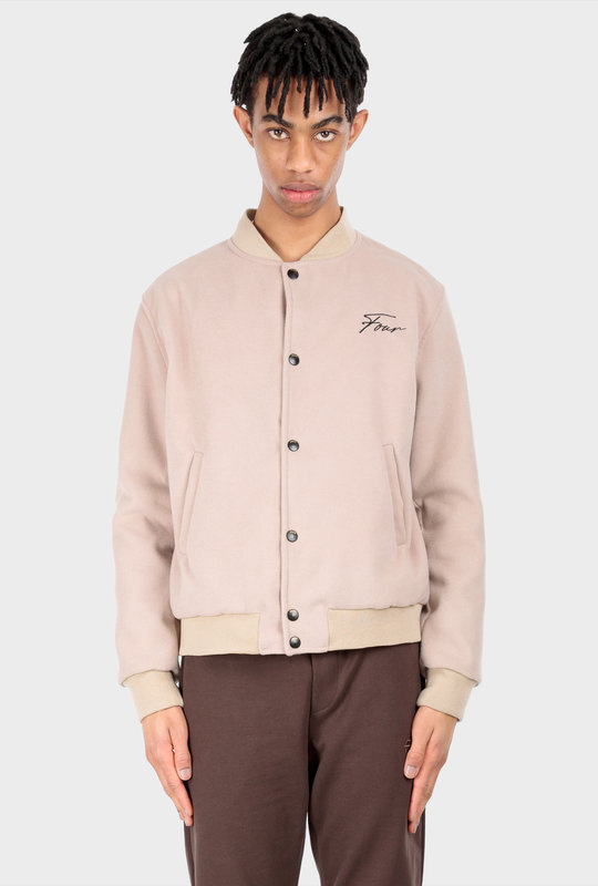 Collection 1 Teddy Jacket Beige Stone