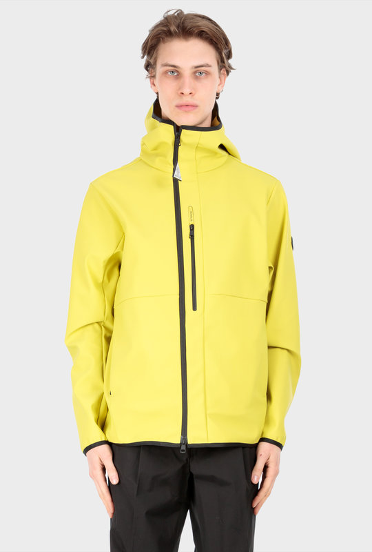 Darc Hooded Soft Shell Jacket Lime