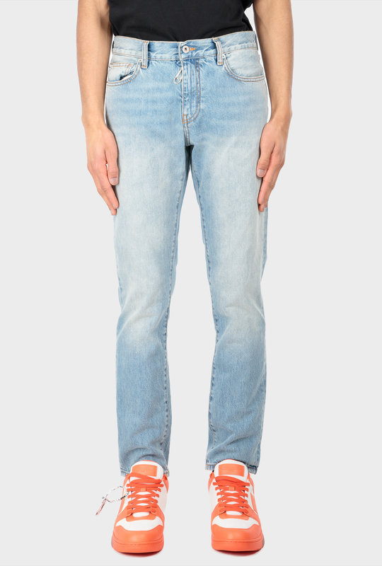 Denim Slim Fit Jeans Blue