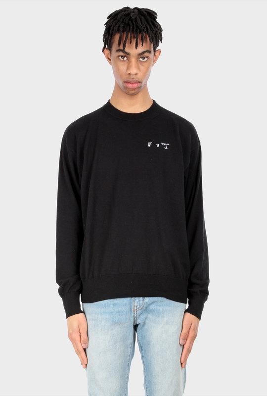 Basic Logo Knitwear Black