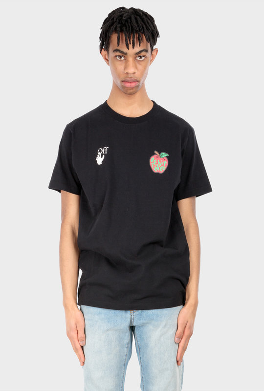 Apple Short Sleeve T-Shirt Black