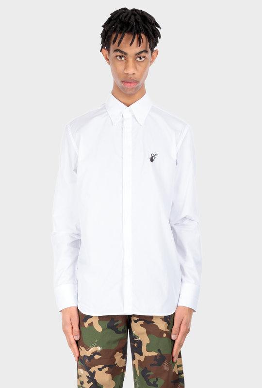Hand Off Shirt White