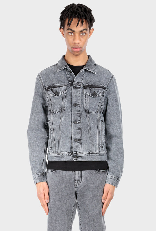 OW Denim Jacket Grey