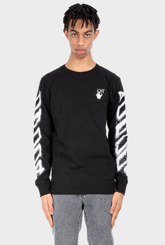 Spray Marker Sweatshirt Black