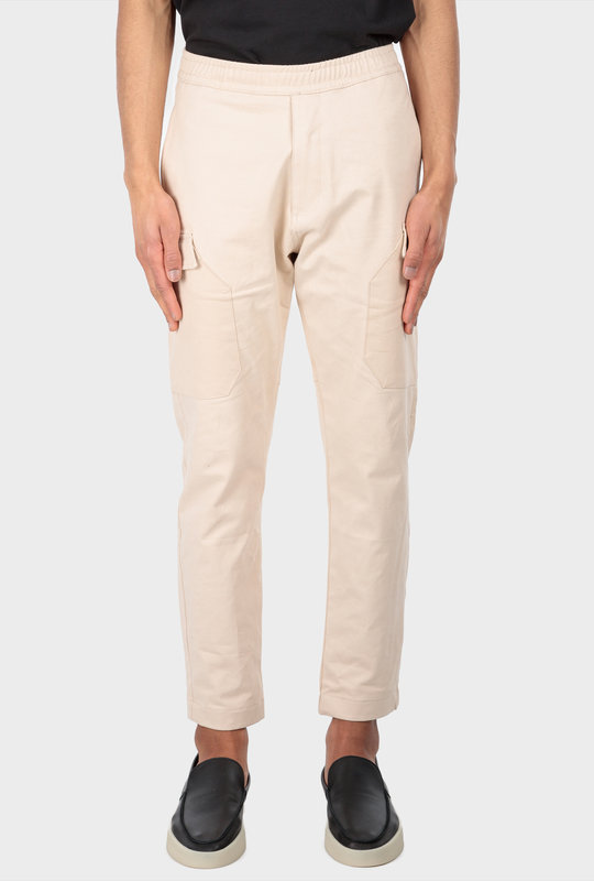 Collection 1 Cargo Pants Beige Stone