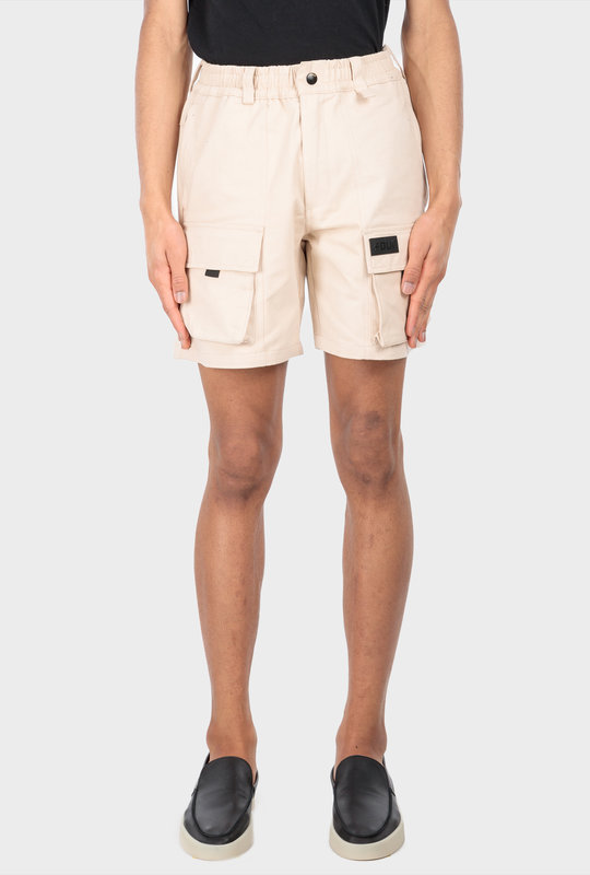 Collection 1 Cargo Shorts Beige Stone
