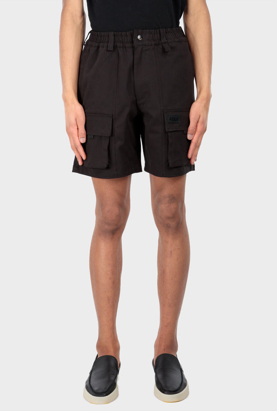 Collection 1 Cargo Shorts Pirate Black