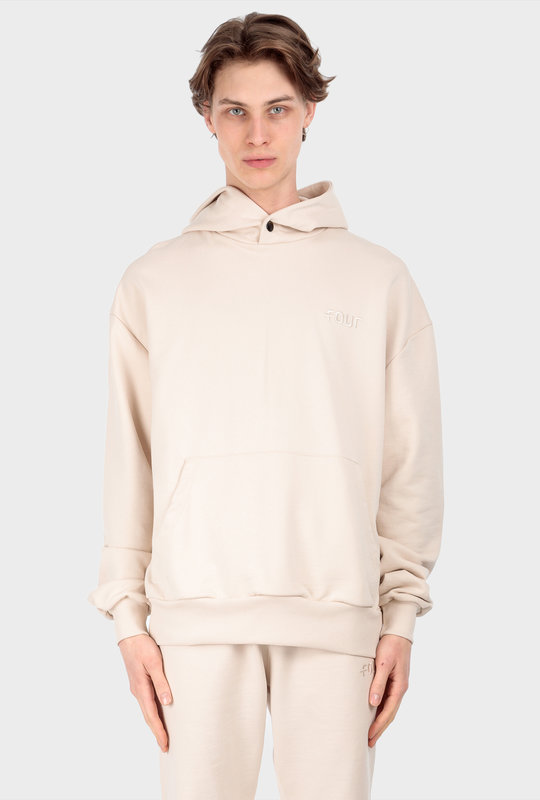 Collection 1 Hoodie Beige Stone