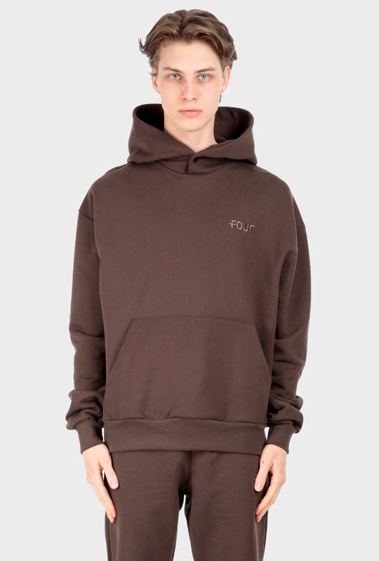 Collection 1 Hoodie Chocolate Brown