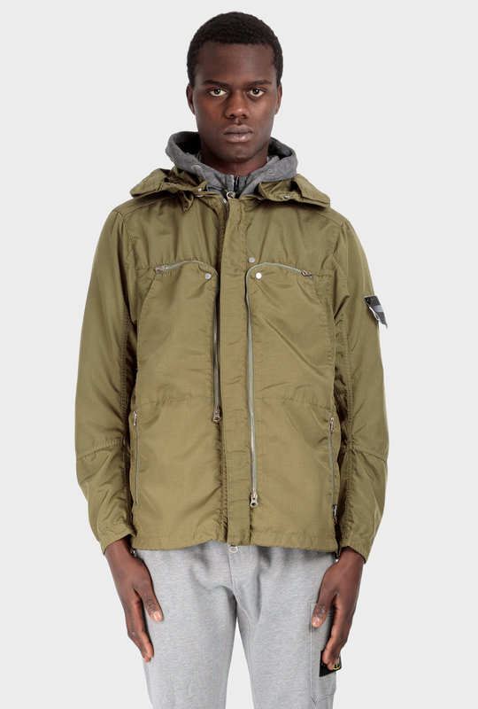 41002 Vented Field Jacket Olive Green