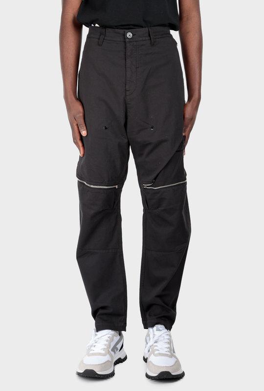 30308 Vent Panel Trousers Black