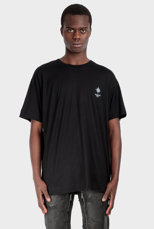 Empty Frame Tee Black