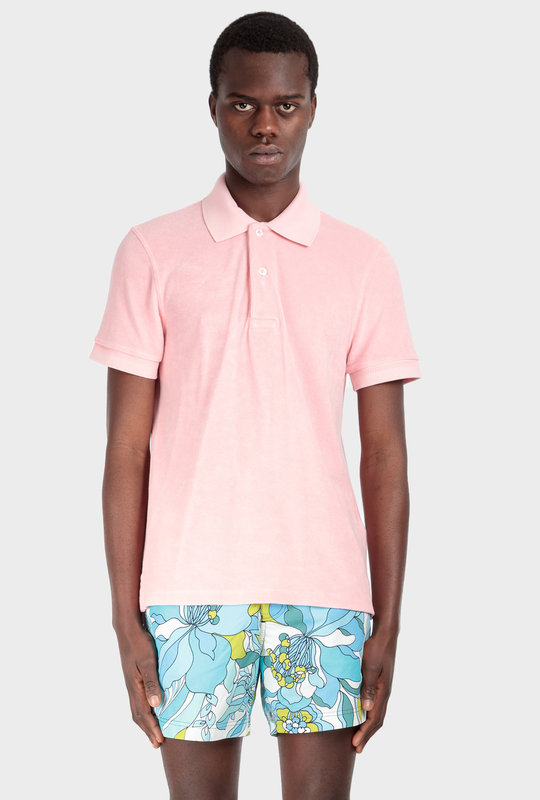 Toweling Polo Antique Pink