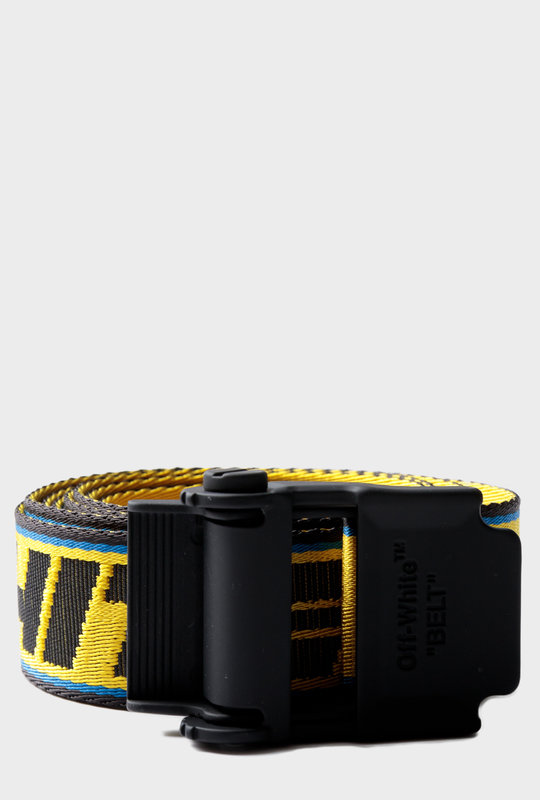 Industrial Belt Yellow Blue