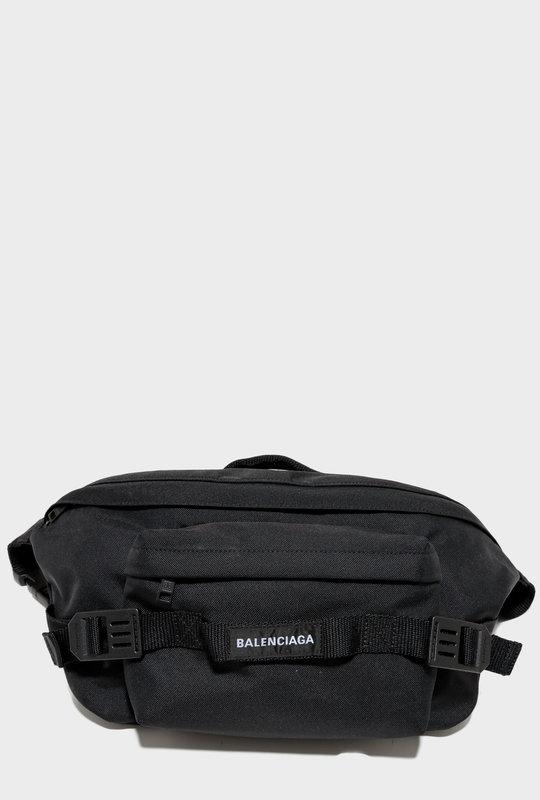 Belt Bag Logo Black