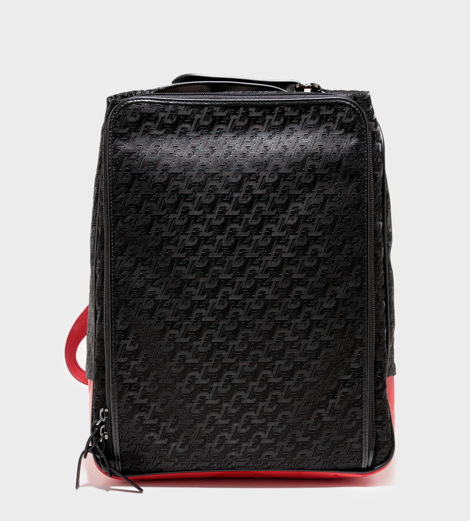 CHRISTIAN LOUBOUTIN Hop'n Zip Backpack Black