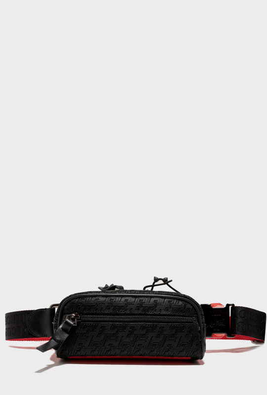 Blaster Crossbody Belt Bag Black