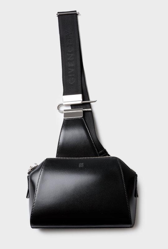 Antigona Crossbody Bag Box Leather Black