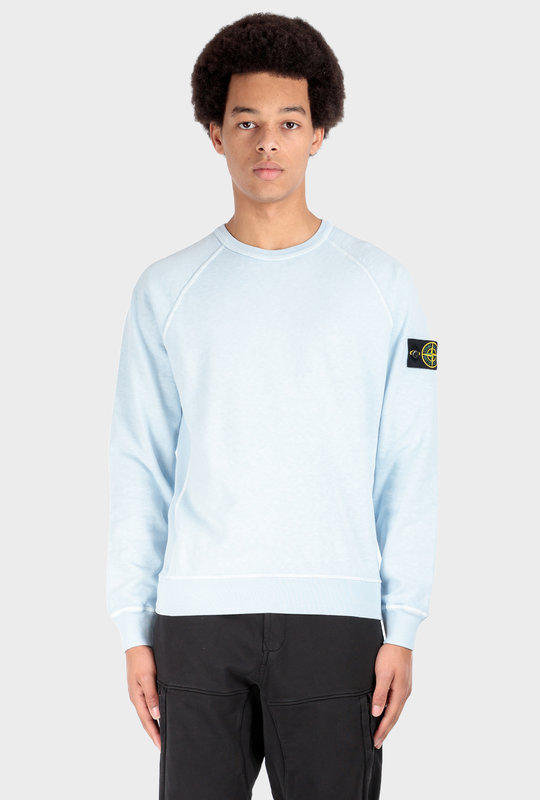 Garment Dyed Crewneck Light Blue