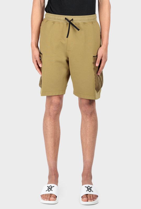 60307 Mesh Pocket Shorts Olive Green