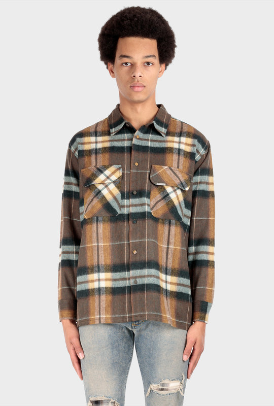Flannel Shirt Beige
