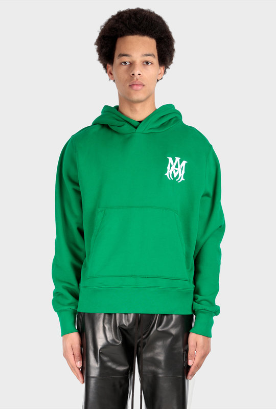 M.A. Fitted Hoodie Green