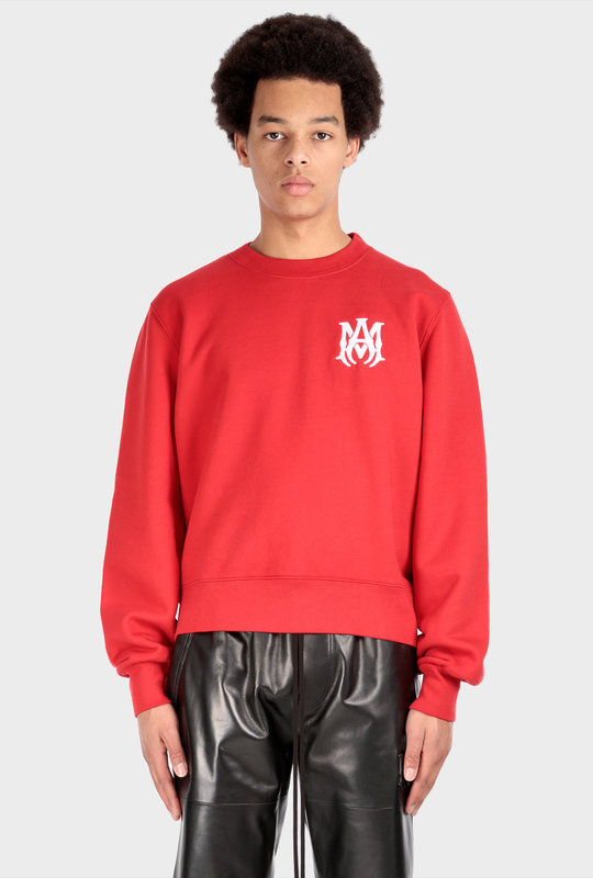 M.A. Crewneck Sweater Red