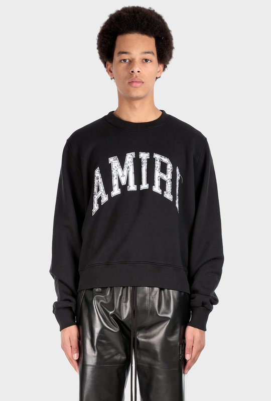 Varsity Sweatshirt Black