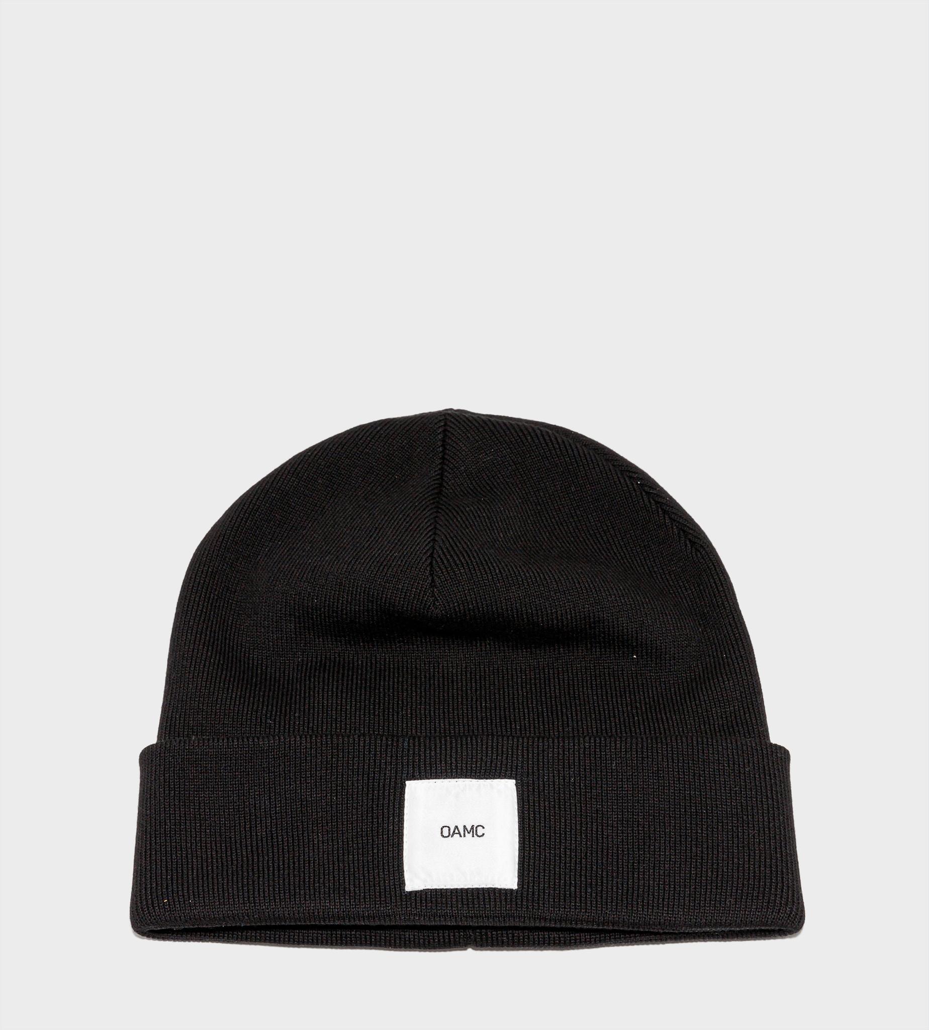 OAMC Knitted Hat Black