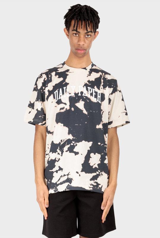 Rehim T-Shirt Ecru Dark Navy