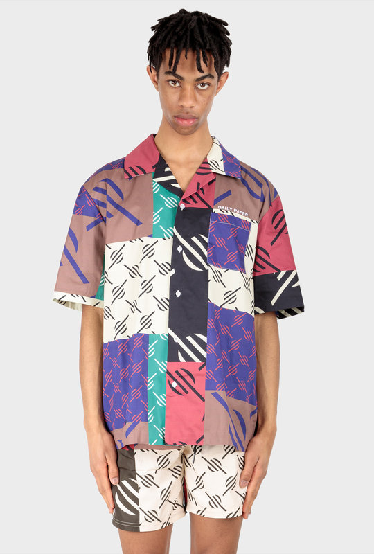 Repatch Shirt Multi Coloured