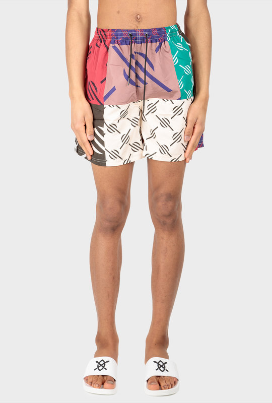 Repatch Swim Shorts Multi Coloured