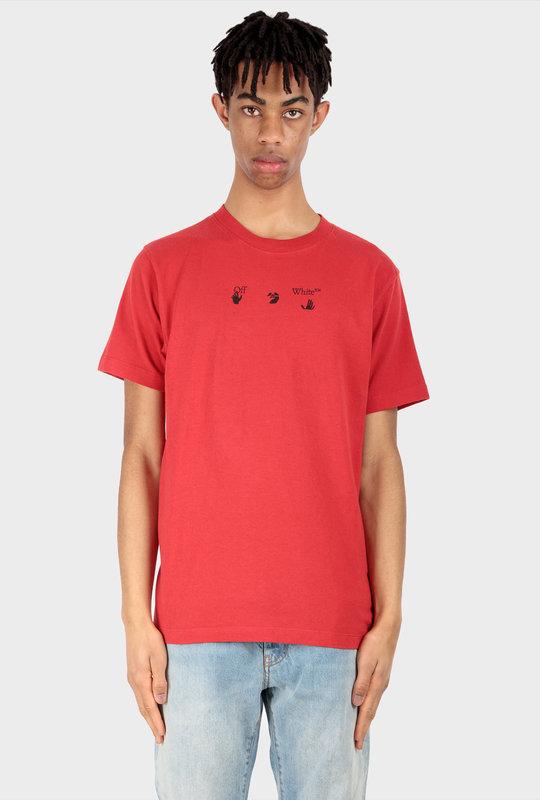 Marker Short Sleeve T-Shirt Red
