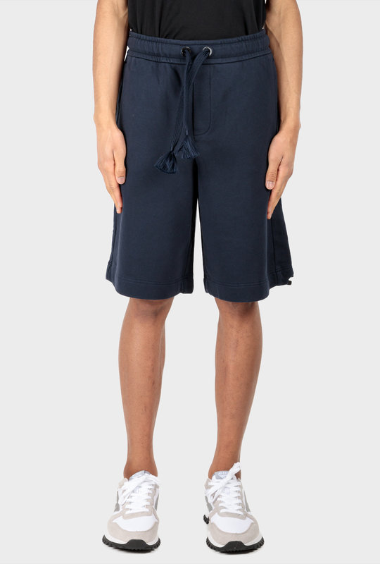 MONCLER X CG French Terry Shorts Navy