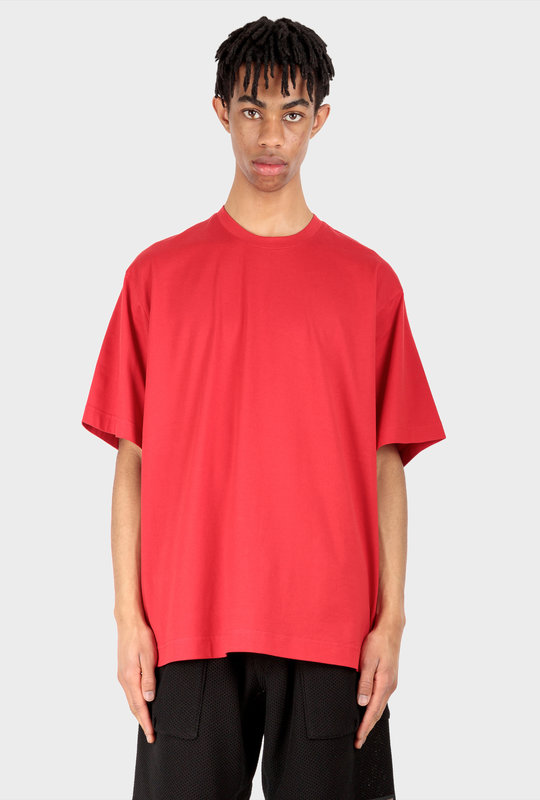 Classic Offset Logo T-Shirt Scarlet