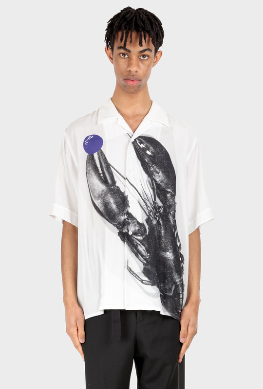 Kurt Shirt Lobster White