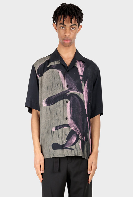 Kurt Shirt Pelican Black