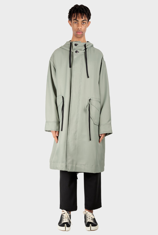 Frieze Parka Cadet Green