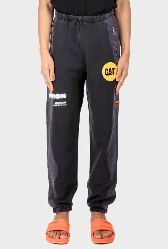 Heron Preston X Caterpillar Sweatpants Black