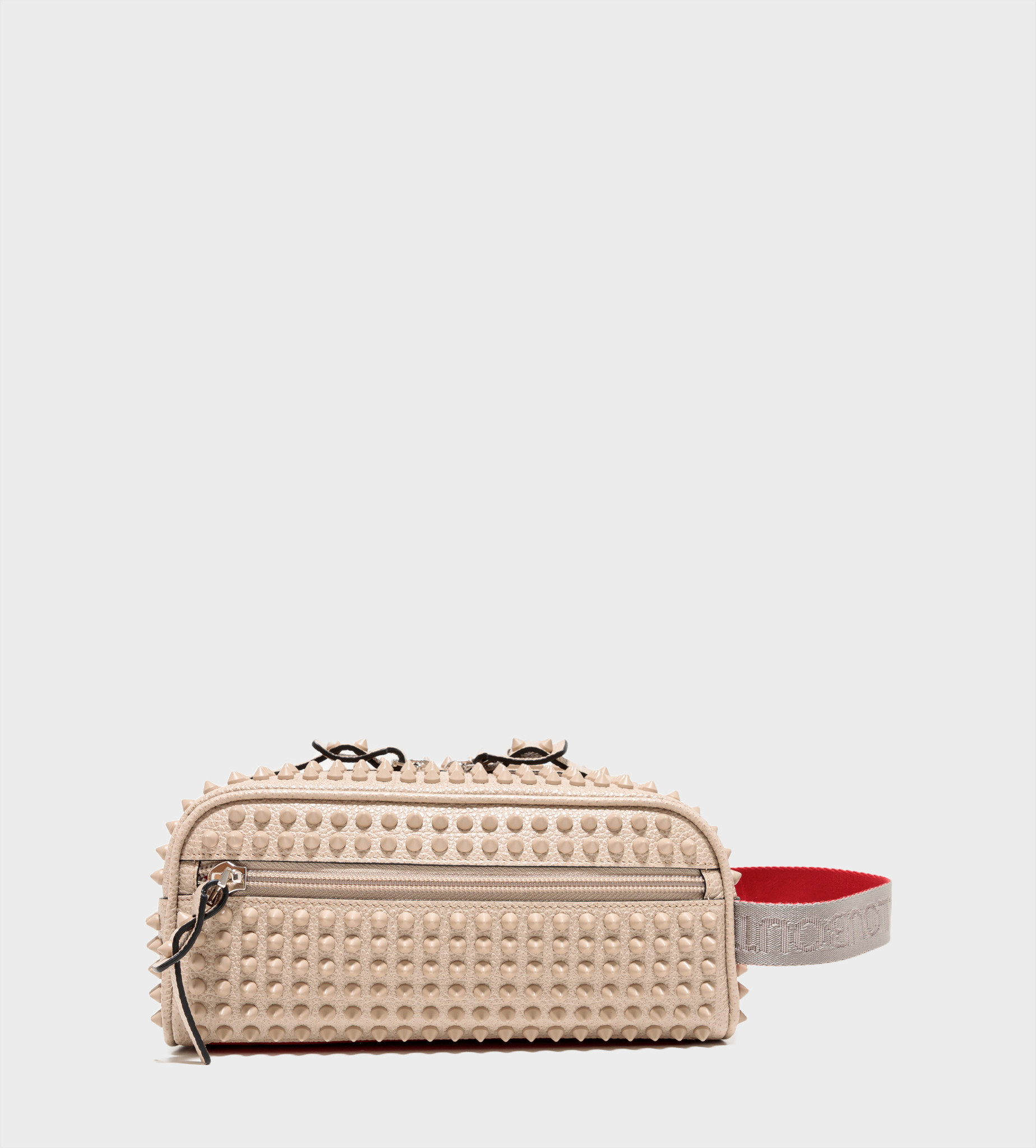 CHRISTIAN LOUBOUTIN Blaster Spikes Toiletry Bag Calce