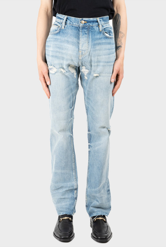 Distressed Jeans Blue