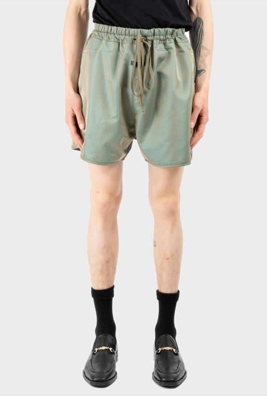 Track Short Green Iridescent