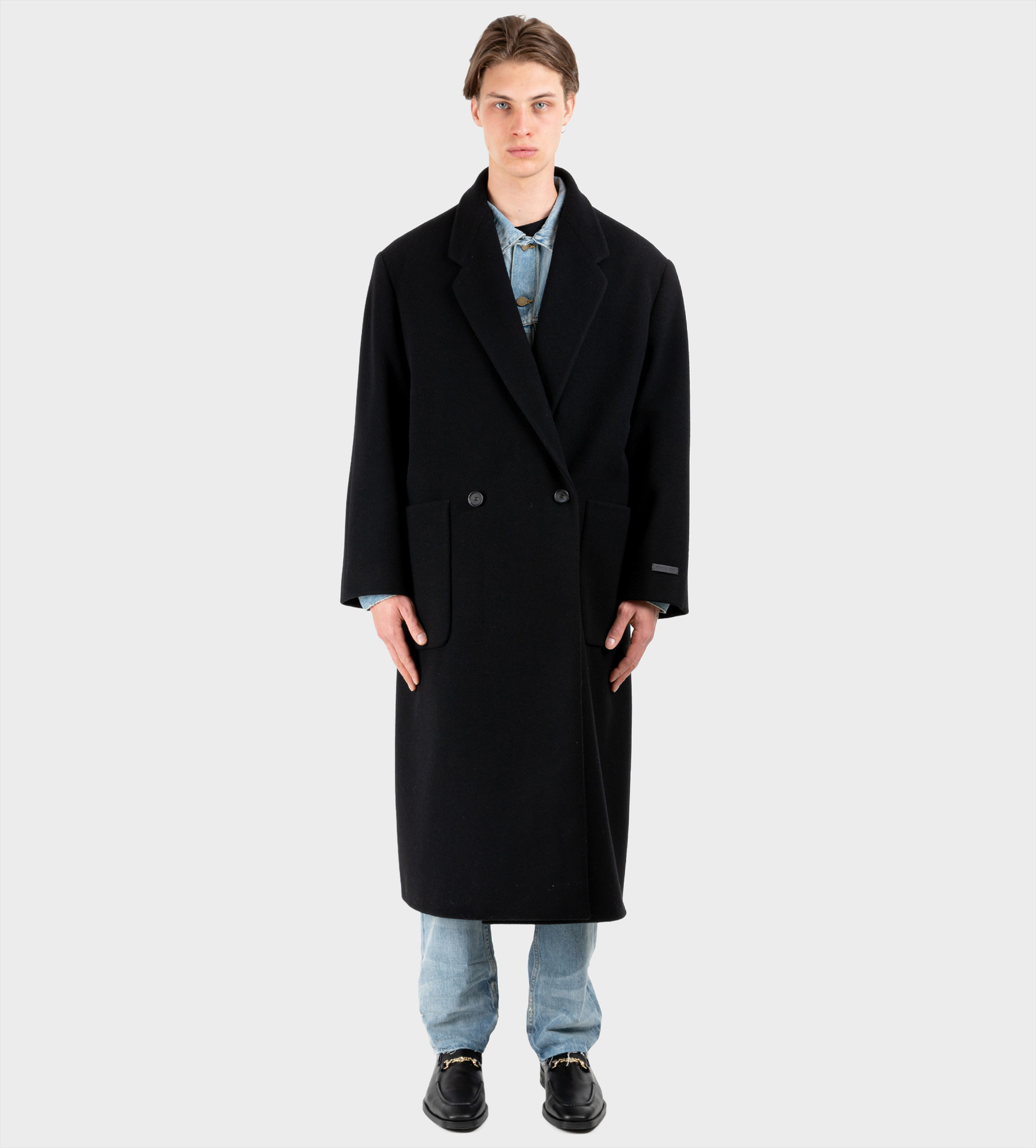 FEAR OF GOD The Overcoat Black