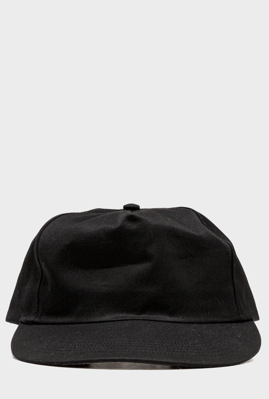 Five Panel cap Black