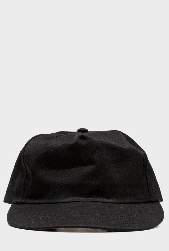 Five Panel Hat Black