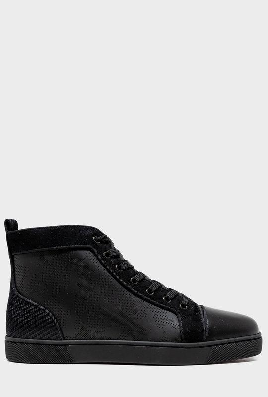 Louis Orlato Perforated Black