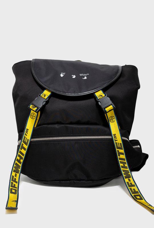 Industrial Nylon Backpack Black