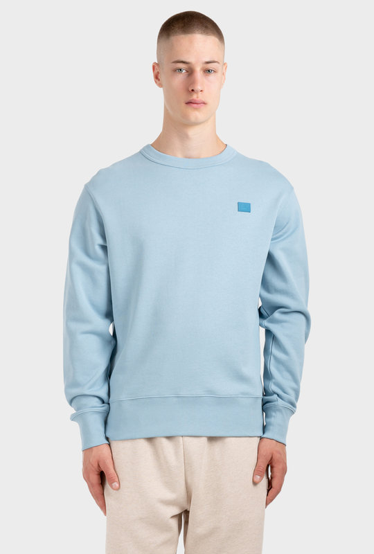 Face Sweatshirt Powder Blue