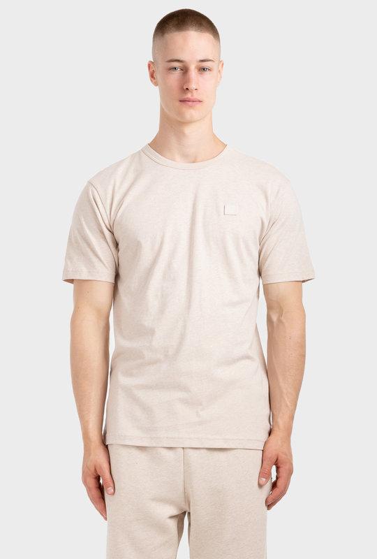 Crew Neck T-Shirt Oatmeal Melange