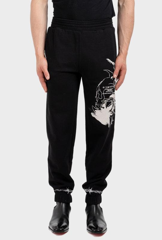 Gothic Nero Sweatpants  Black